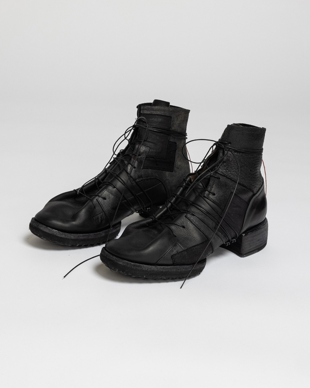21AW DUE-Ⅲ-041-SHO Patched Boots