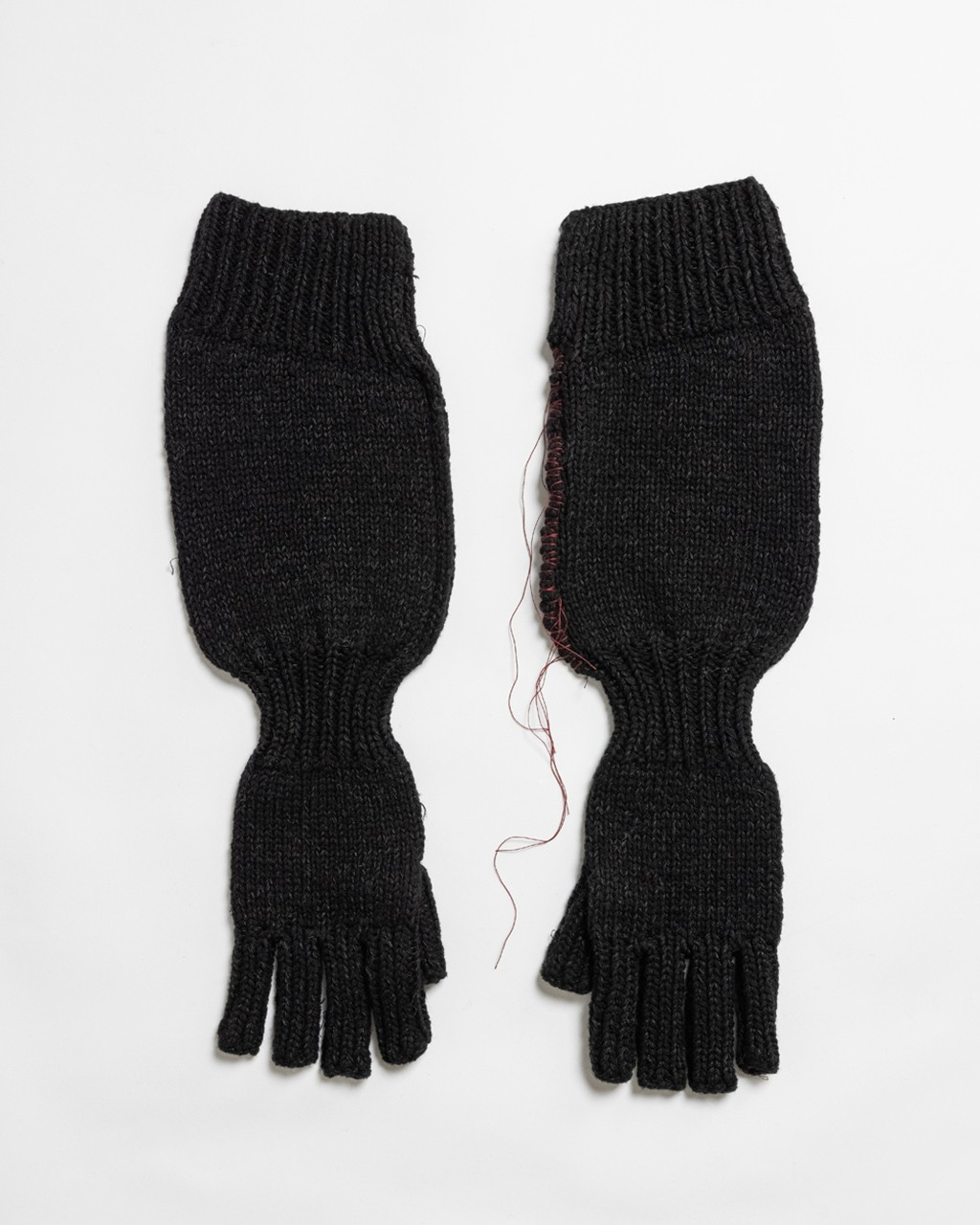 21AW DUE-Ⅲ-039-ACC-BLK Knit Glove