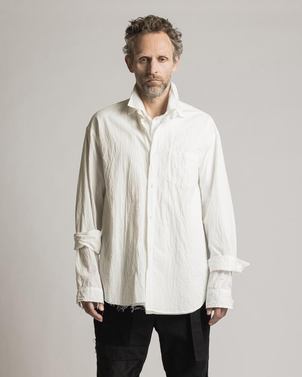 21AW DUE-Ⅲ-031-SHT-WHT Dual Shirt