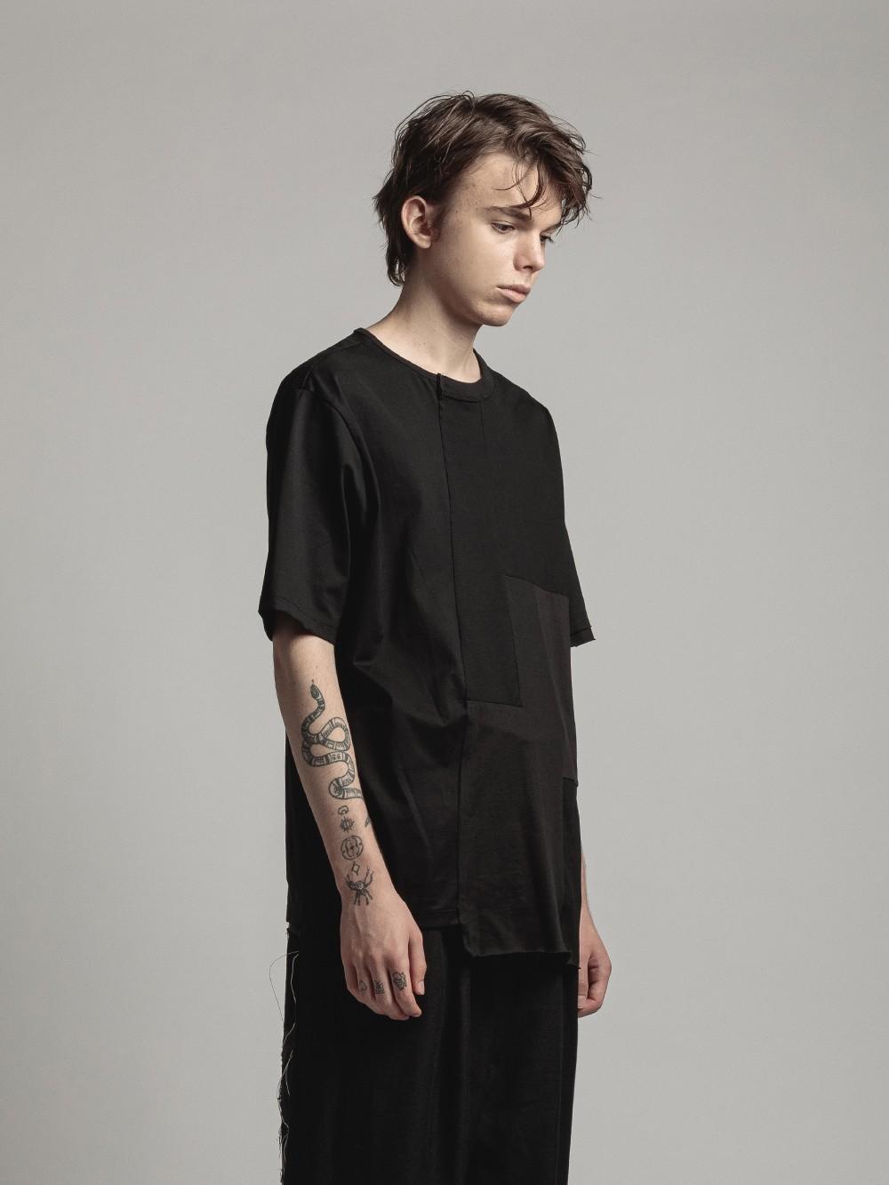 paneled t-shirts