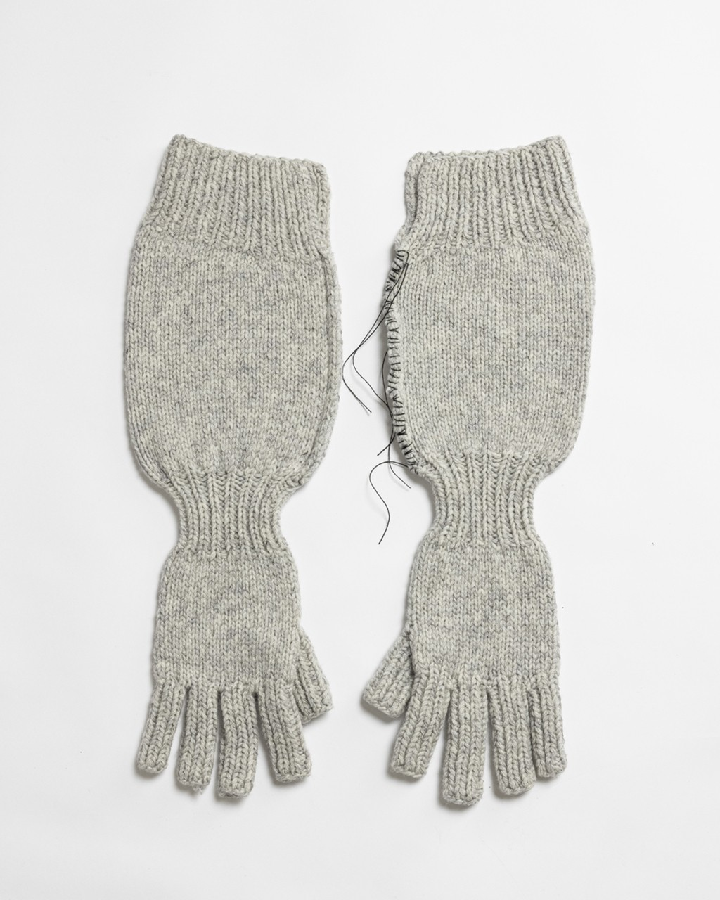 21AW DUE-Ⅲ-039-ACC-GRY Knit Glove