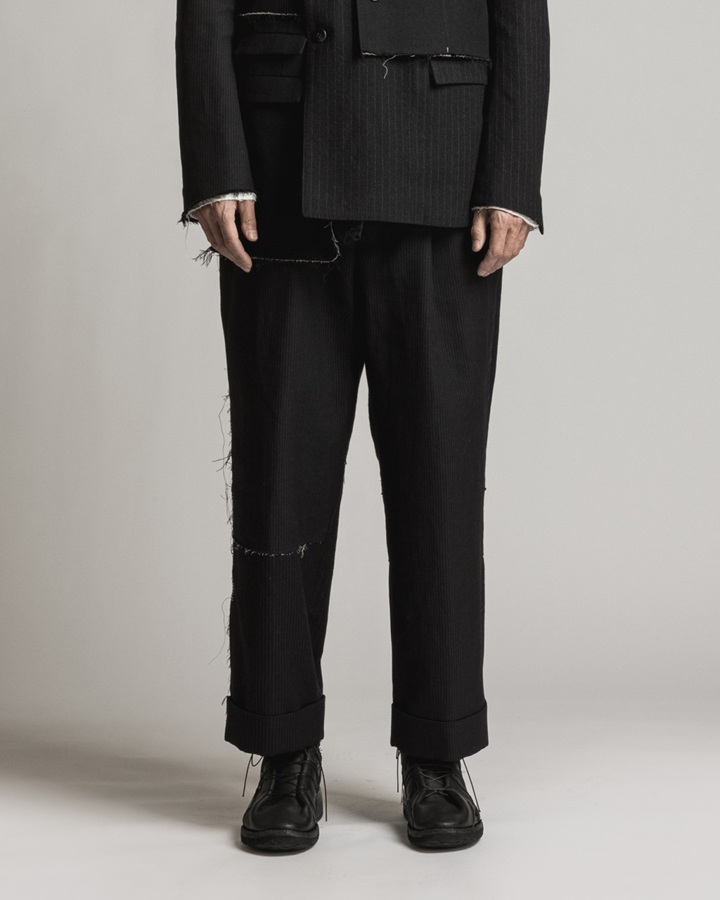 21AW DUE-Ⅲ-025-TRS Wide Trousers