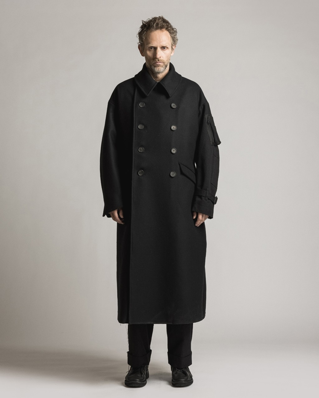 21AW DUE-Ⅲ-023-COT Military coat