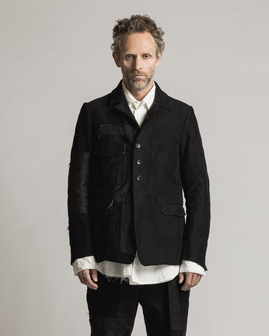 21AW DUE-Ⅲ-026-JAK Patched Hunting Jacket