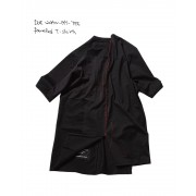 paneled t-shirts-Black-1